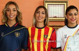 Le nuove maglie del Lecce 2018-2019 autoprodotte