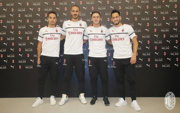 Presentazione seconda maglia Milan 2018-19