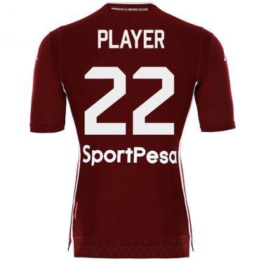 Prima maglia Torino con font Kappa 2018-2019