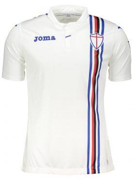 Seconda maglia Sampdoria bianca 2018-2019