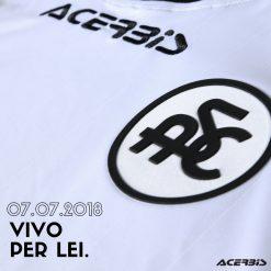Dettaglio stemma vintage Spezia Calcio
