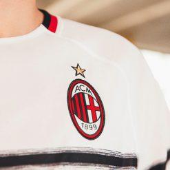 Stemma AC Milan ricamato, maglia away