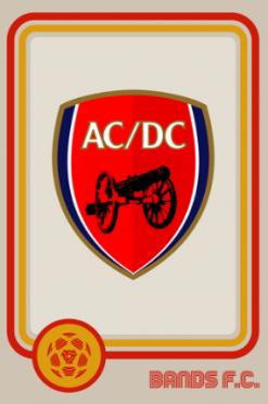 AC/DC Bands FC logo