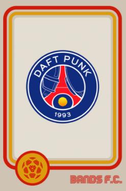 Daft Punk Bands FC logo