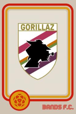 Gorillaz Bands FC logo