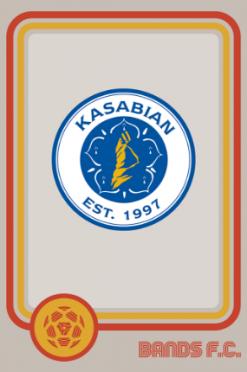 Kasabian Bands FC logo