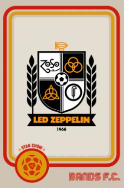 Led Zeppelin Bands FC logo