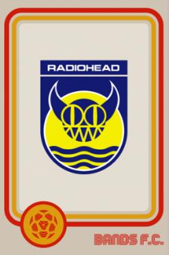 Radiohead Bands FC logo