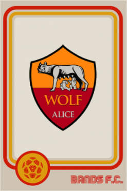 Wolf Alice Bands FC logo