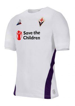 Maglia Fiorentina away bianca 2018-19