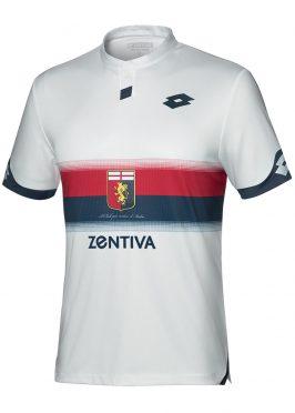 Seconda maglia Genoa bianca 2018-19