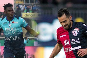 Maglie Cagliari e Atalanta Natale 2018