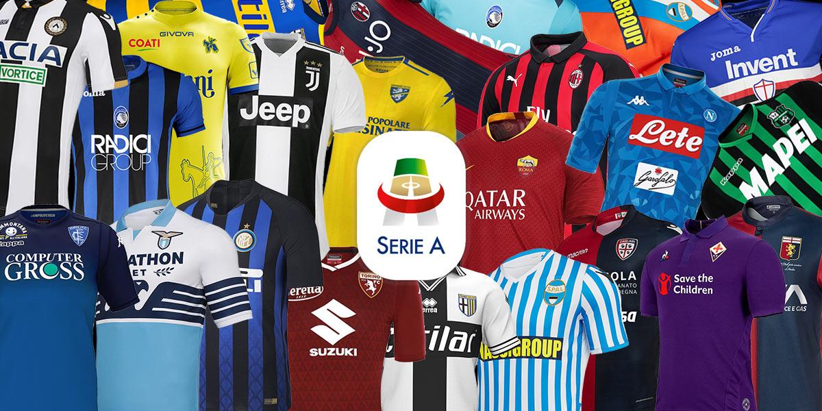 Maglie Serie A 2018-2019