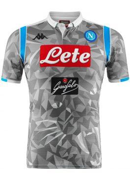 Seconda maglia Napoli 2018-19