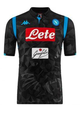 Terza maglia Napoli 2018-19 nera