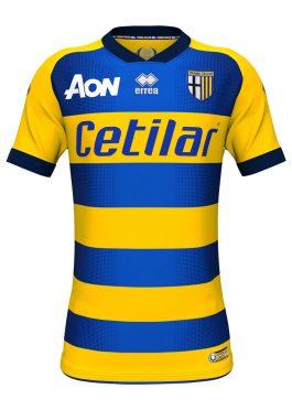 Seconda maglia Parma 2018-2019 gialloblu