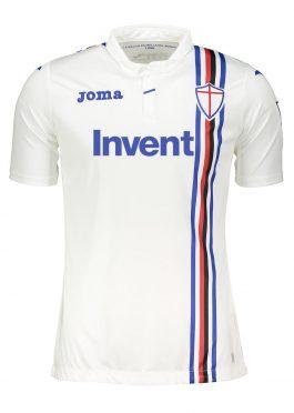 Seconda maglia Sampdoria bianca 2018-19