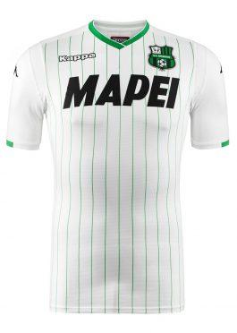 Seconda maglia Sassuolo bianca 2018-19