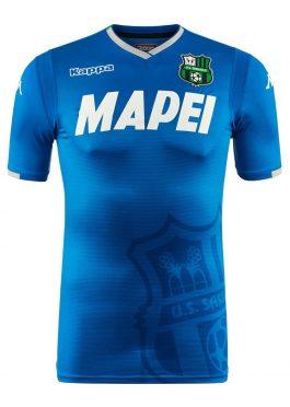 Terza maglia UC Sassuolo azzurra 2018-19