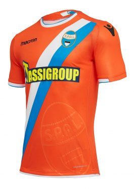 Seconda maglia Spal arancione 2018-19