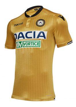 Seconda maglia Udinese oro 2018-19