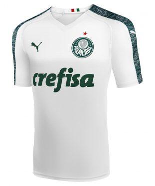 Seconda maglia Palmeiras 2019 Puma bianca