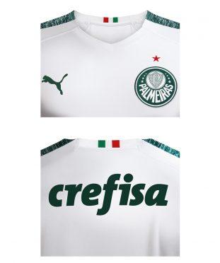 Dettagli maglia Palmeiras trasferta 2019