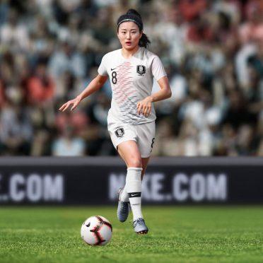 Mondiale femminile 2019 - Corea del Sud away