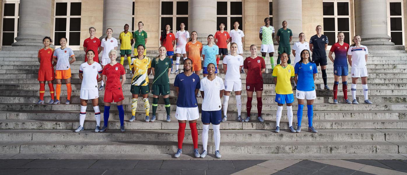 Mondiale femminile 2019 - Squadre Nike