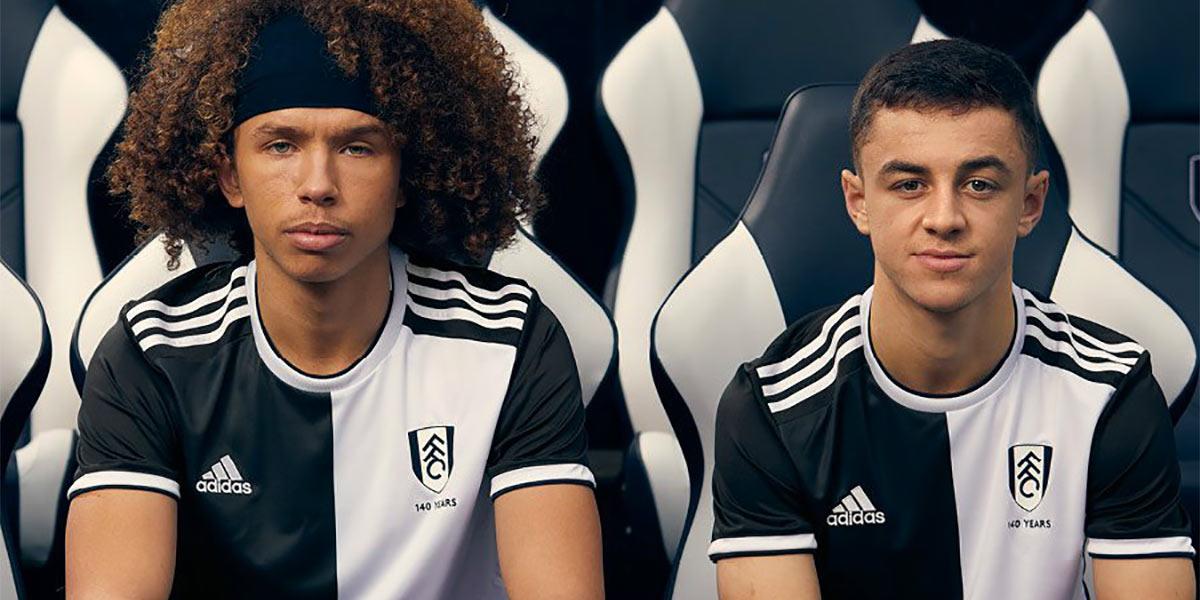 Kit Fulham 140 anni adidas