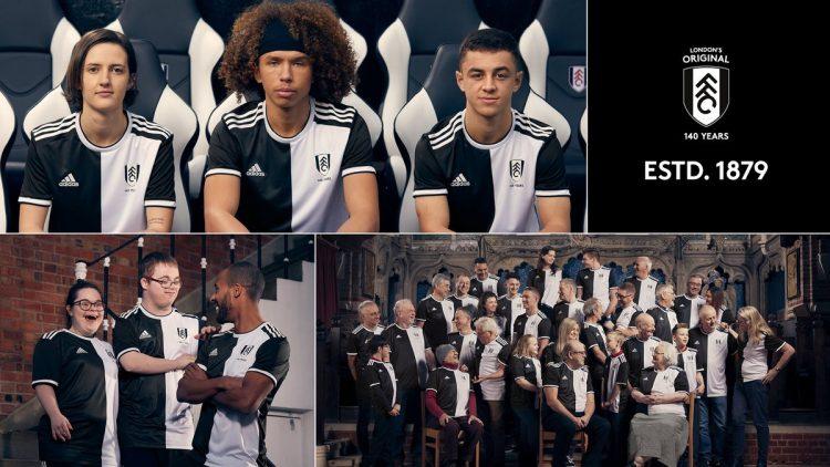 Divisa Fulham 140 anni adidas
