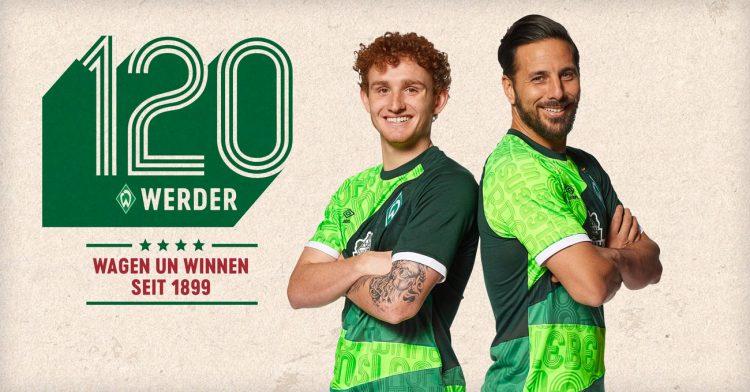Divisa Werder Brema 120 anni