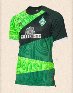 Maglia Werder Brema 120 anni
