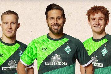 Werder Brema 120 anni maglia celebrativa