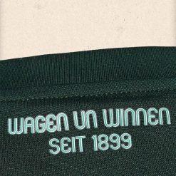 Scritta retro colletto Werder Brema