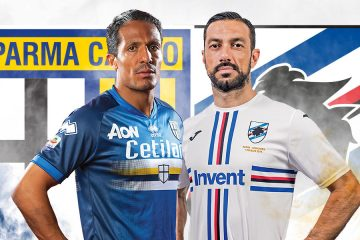 Parma-Sampdoria maglie invertite