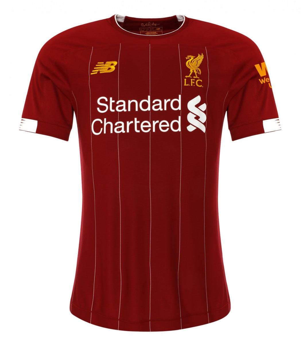 Maglia Liverpool 2019-2020, tornano le mitiche pinstripes
