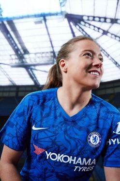 Stampa Stamford Bridge sulla maglia