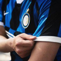 Dettaglio manica Inter maglia