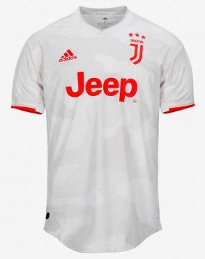 Seconda maglia Juventus bianca 2019-2020