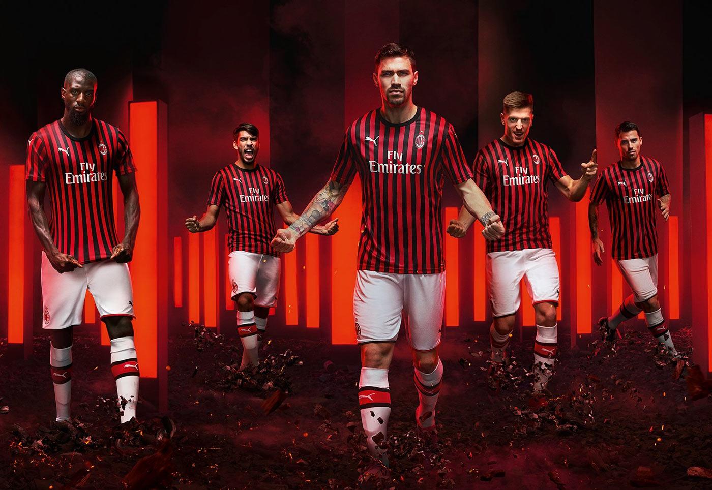 Maglia Milan 2019-2020, Puma rispolvera le strisce delle origini