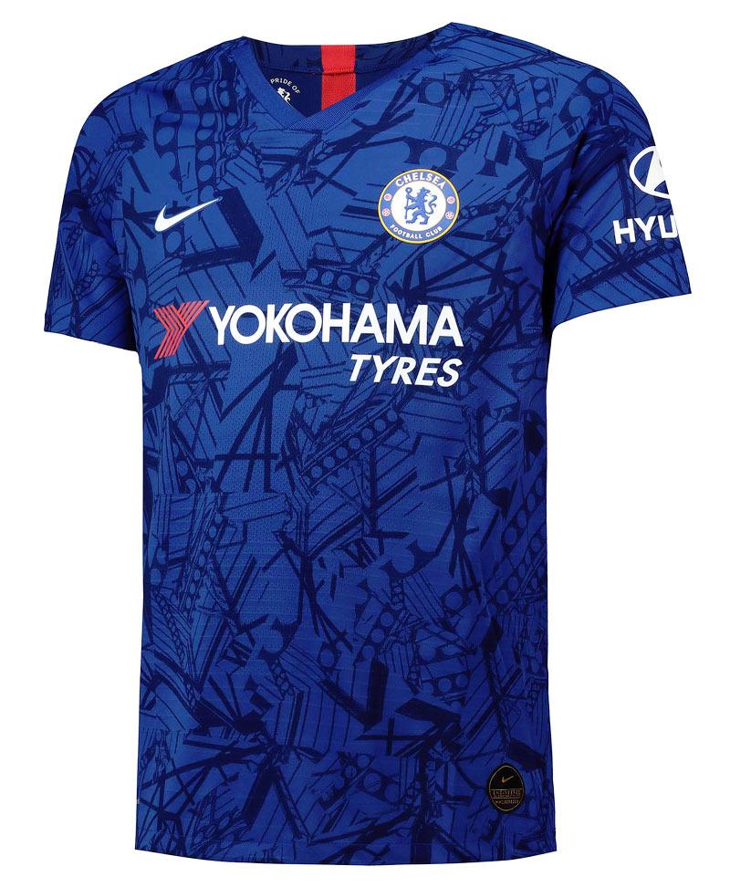 Maglia Chelsea 2019-2020 con l'omaggio al mitico Stamford Bridge