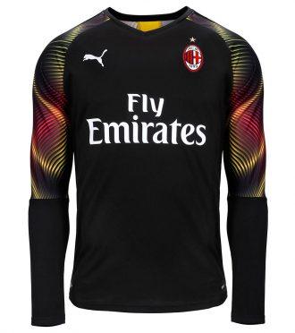 Maglia nera portiere Milan 2019-2020
