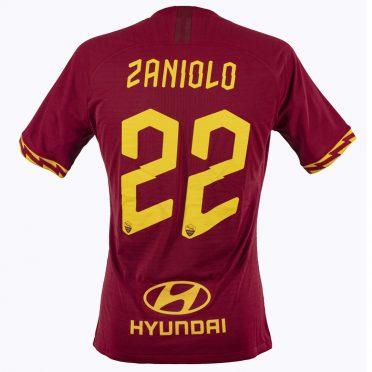 Maglia Roma Zaniolo 22 - Stagione 2019-20