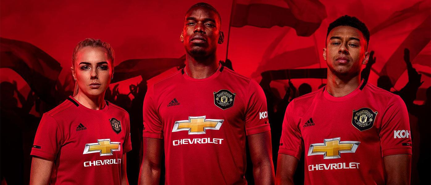 La nuova maglia del Manchester United 2019-2020