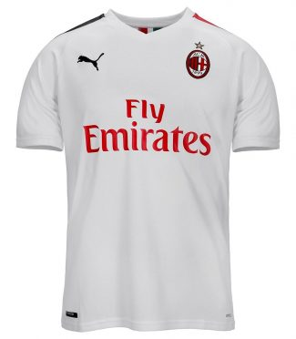 Seconda maglia Milan 2019-2020 bianca