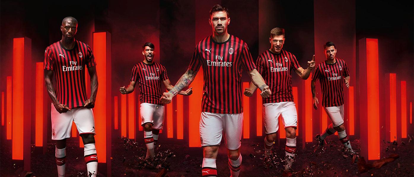 La nuova maglia del Milan 2019-2020