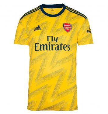 Seconda maglia Arsenal gialla 2019-2020