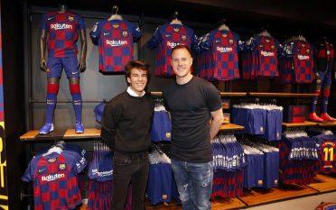 La maglia del Barcellona nello store ufficiale