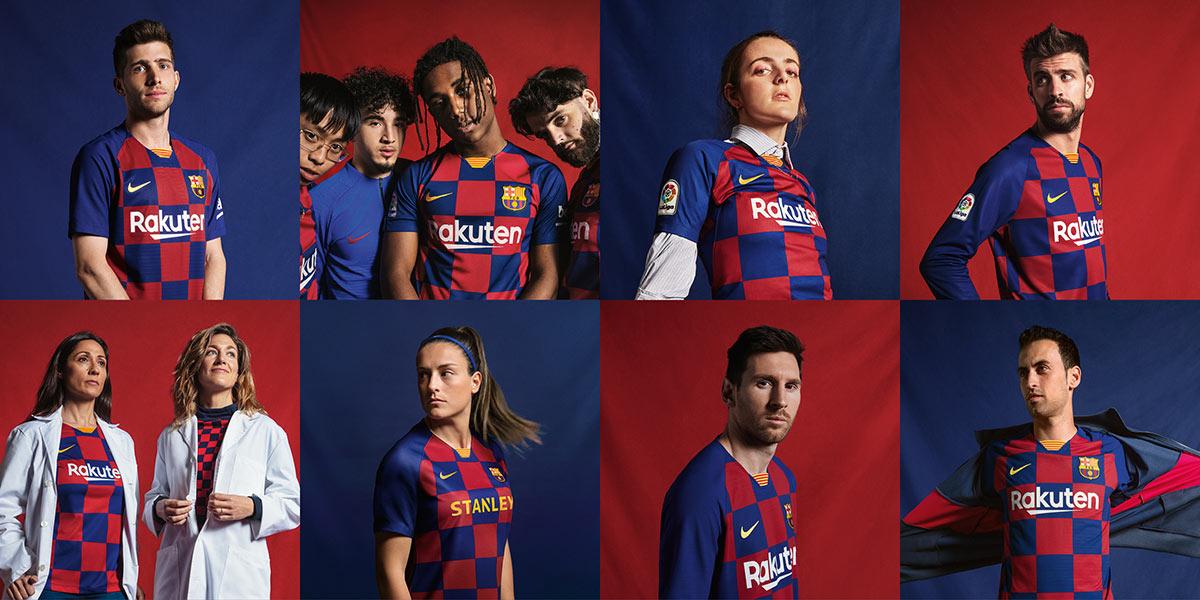 Maglia Barcellona 2019-2020 a scacchi blaugrana, la novità di Nike!